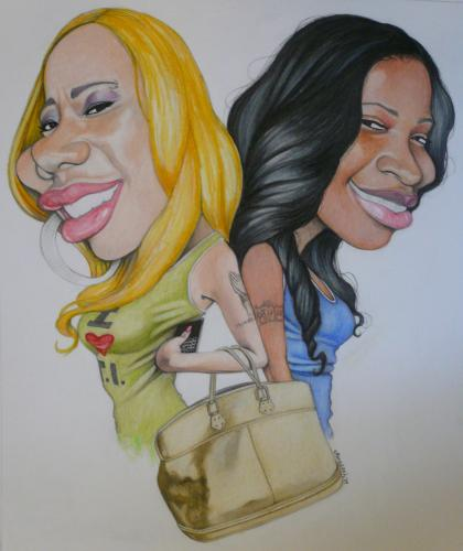 Can you guess who these best friends are? Hint: They have their own reality show on BET